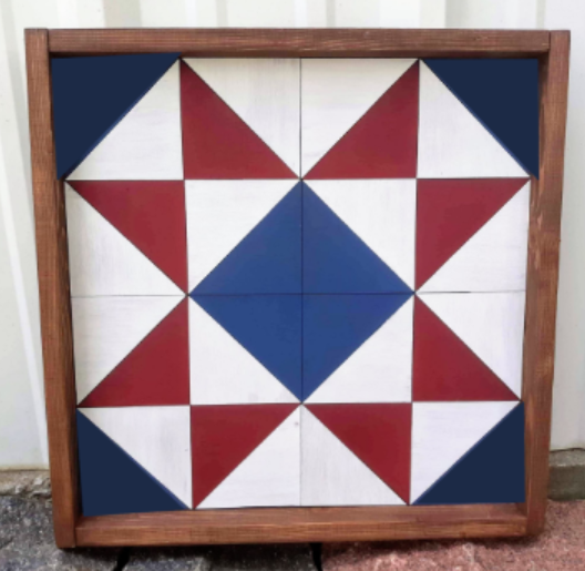 3D Barn Quilt Triangles