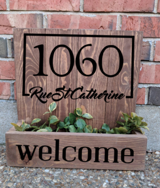 14x14 Planter Box - Boxed address welcome