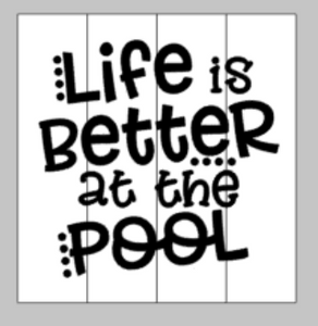 Life is better at the pool with dots