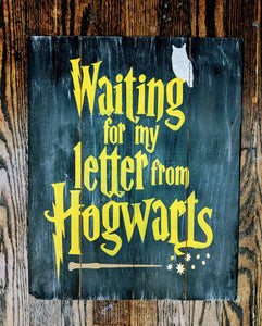 Harry Potter-waiting for my letter from hogwarts