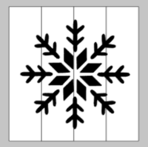 String Art  - Snowflake