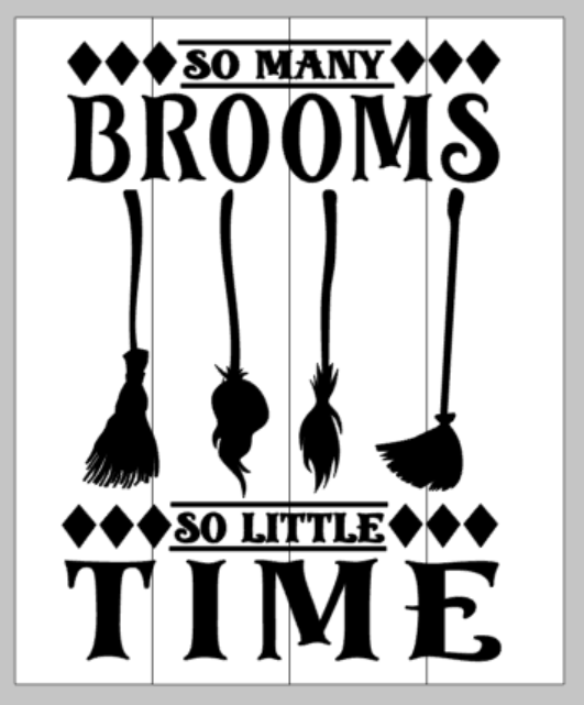 so many brooms so little time