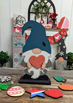 3D Seasonal interchangeable Standing Gnome