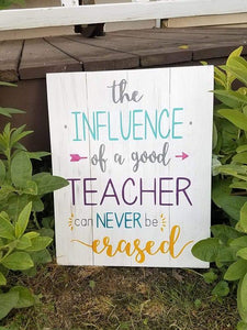 The influence of a good teacher