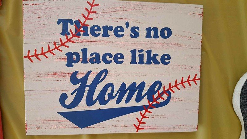 There's no place like home-baseball