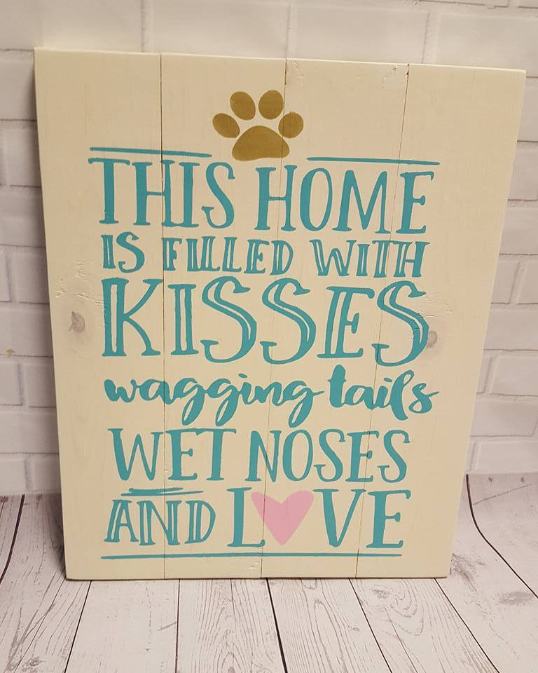 This home is filled with kisses -- Alternative design