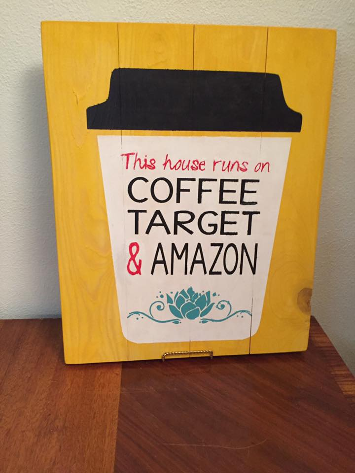 This house runs on coffee target and amazon