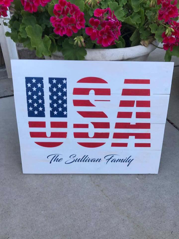 USA with family name