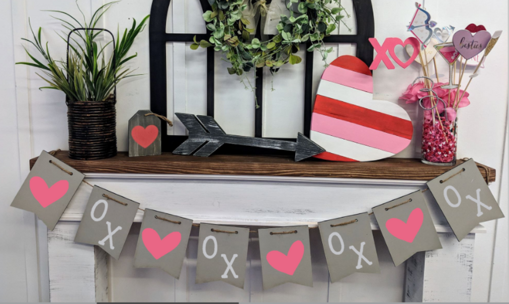Banner - Hearts and XO's