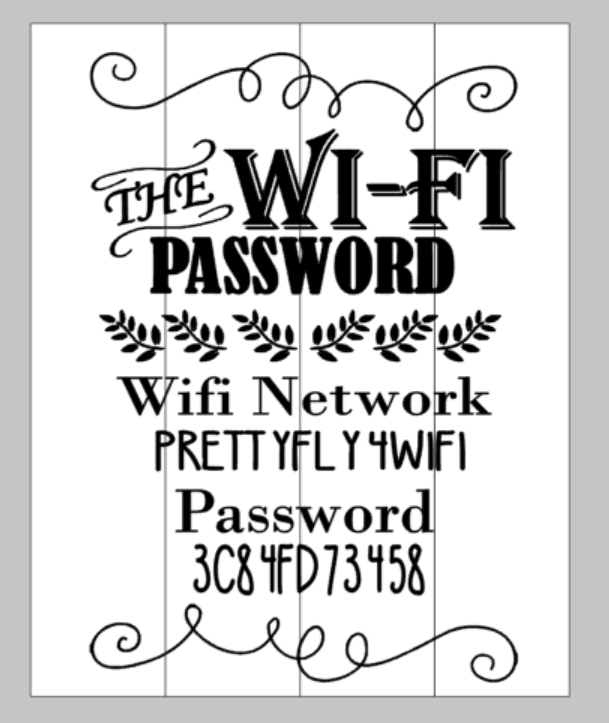 The Wifi Password
