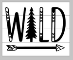 Wild with arrow