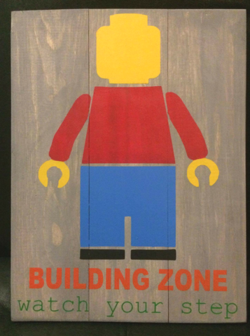 Building zone watch your step