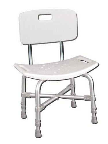Bath Bench - Heavy Duty With Back - Accord Medical Supply