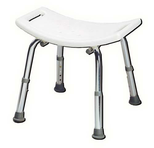 Shower Safety Bench - W/O Back - Retail-KD - Accord Medical Supply