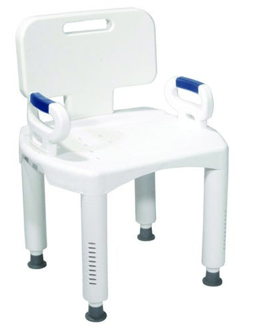 Bath Bench Premium Series with Back and Arms - Accord Medical Supply