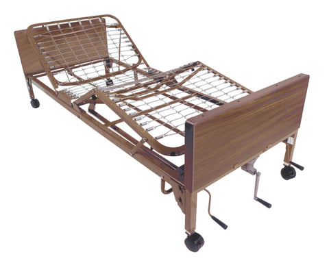Multi Height Manual Hospital Bed - Accord Medical Supply
