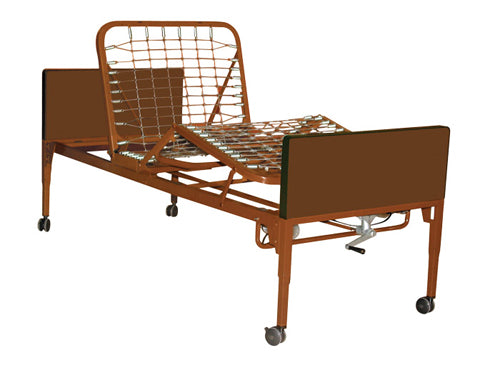 Homecare Manual Bed with Mattress Only