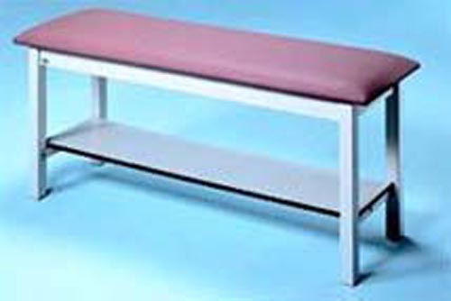 Treatment Table H-Brace 27 W w/Nose Slot & Paper Dispenser