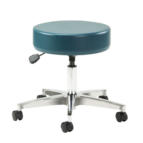 Pneumatic Doctors Stool W/O Back Rest W/Foot Ring