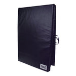 Exercise Mat W/Handles Navy Center-Fold 4' x 8' x 2