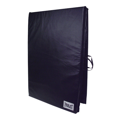 Exercise Mat W/Handles Navy Center-Fold 4' x 7' x 2