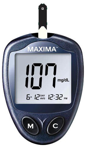 Maxima Blood Glucose Meter - Accord Medical Supply