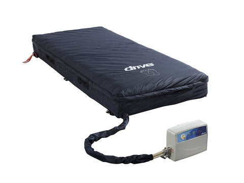 "Med-Aire Essential 8"" Alternating Pressure and Low Air Loss Mattress System - Accord Medical Supply"