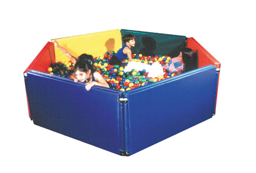 Panel Sided Ball Pit 6' x 6Ñ' w/3500 Large Balls