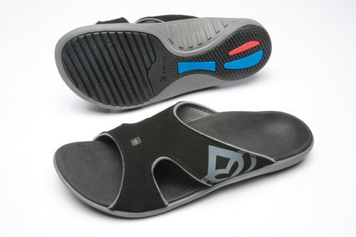 Kholo - Men's Sandals (pr) Black Size 12 Spenco