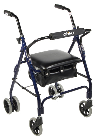 Mimi Lite Push Brake Rollator Walker - Accord Medical Supply