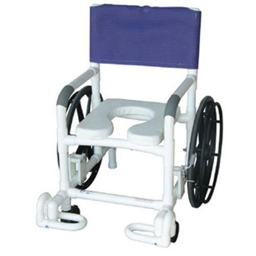 Shower Chair PVC Multi-Purpose w/Wheels - Accord Medical Supply