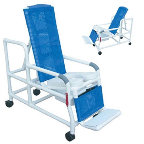 Shower/Commode Chair PVC Tilt-N-Space - Accord Medical Supply