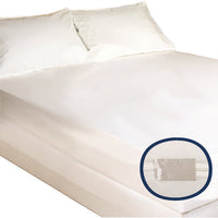 Mattress Cover Bugstop Zipper Queen 60 x 80 x 15 (Case/6)