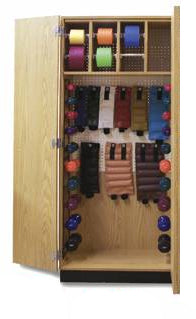 Thera-Wall Therapy Storage Cabinet 32 W x 19Ñ D x 78 H