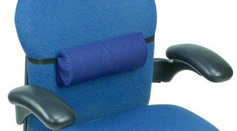Half Roll Lumbar Back Support Roll w/Strap - Accord Medical Supply