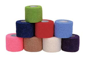 CoFlex Bandage 1 wide Cs/30 Rolls Asstd Colors