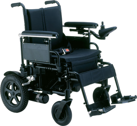 Cirrus Plus Folding Power Wheelchair - Accord Medical Supply