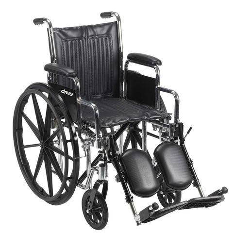 Chrome Sport Wheelchair - Accord Medical Supply