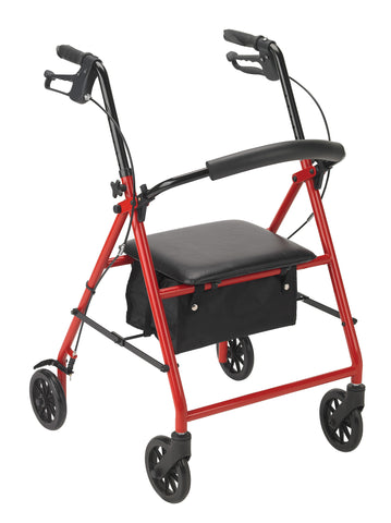 "Steel Rollator with 6"" Wheels - Accord Medical Supply"
