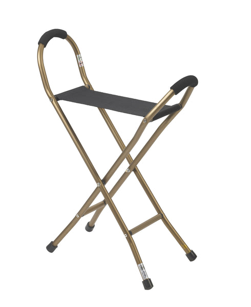Folding Lightweight Can with Sling Style Seat - Accord Medical Supply