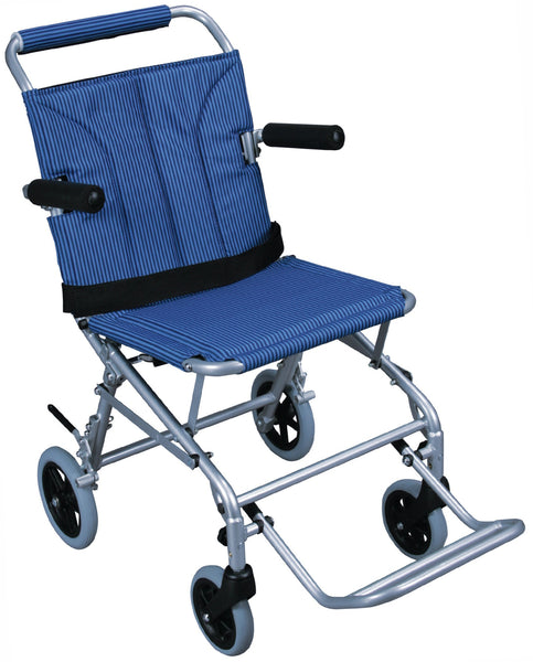 Super Light Folding Transport Wheelchair with Carry Bag - Accord Medical Supply