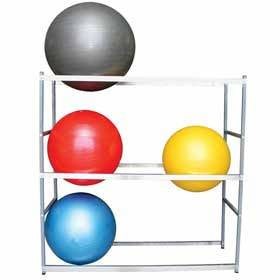 Horizontal Storage Stand for 6 Exercise Balls