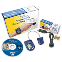 Overnight Blood Oxygen and Heart Rate Recording System