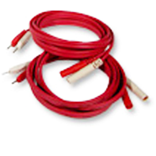 Lead Cord Set 1 Red &1 White for Richmar Theratouch