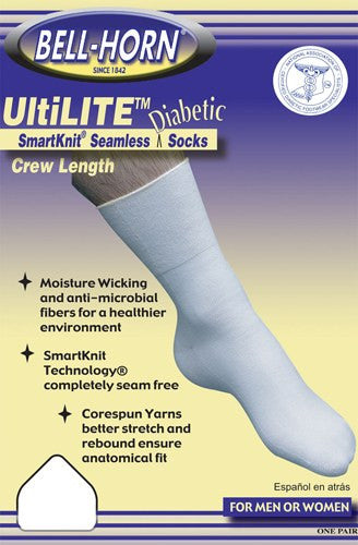 UltiLITE Diabetic Crew Sock - Accord Medical Supply