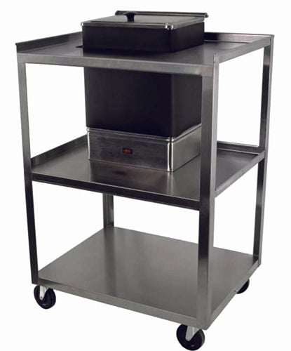 Cart w/ Drawer for 4-Pack Tan Hot Pack Service Center