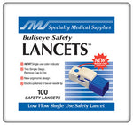 Bullseye Safety Lancet Bx/100 - Accord Medical Supply