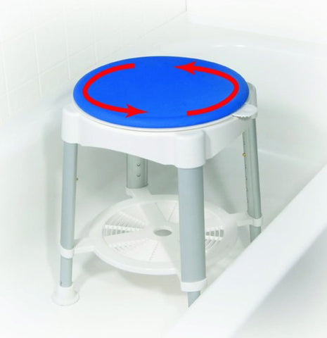 Bath Stool with Padded Rotating Seat - Accord Medical Supply