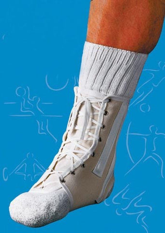 Ankle Splint Lace-Up Canvas - Accord Medical Supply