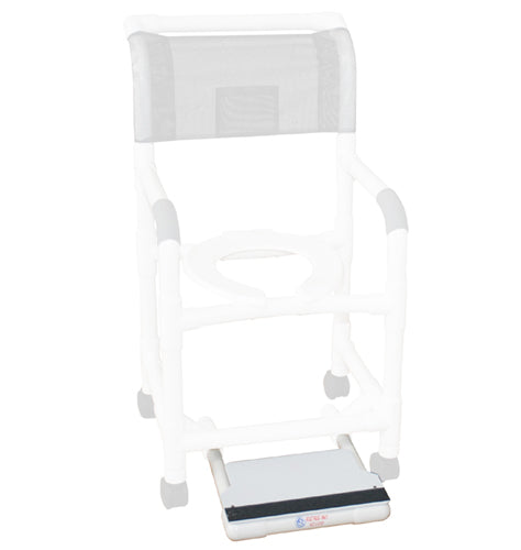 Sliding Footrest only for MJM Shower Chairs / Commodes